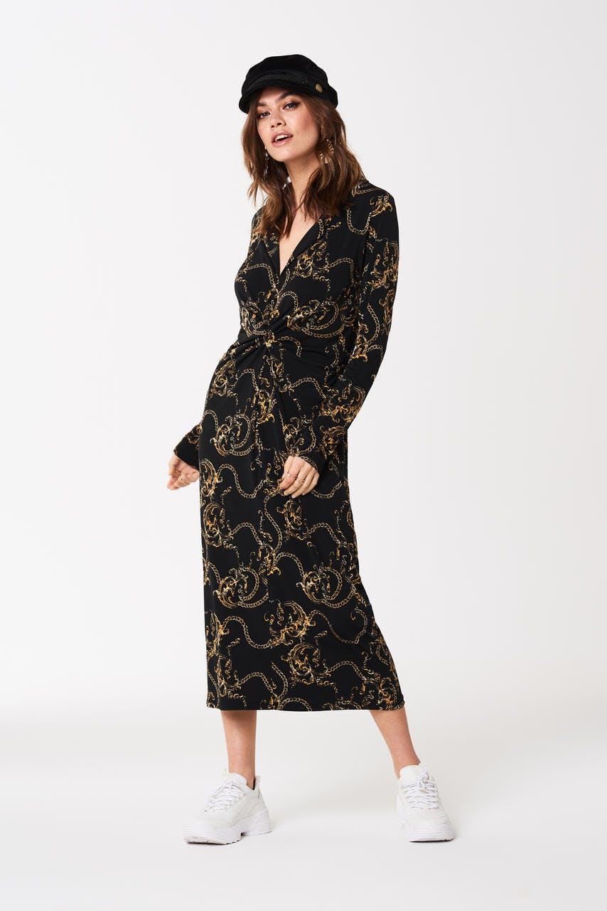 långklänning fest billig